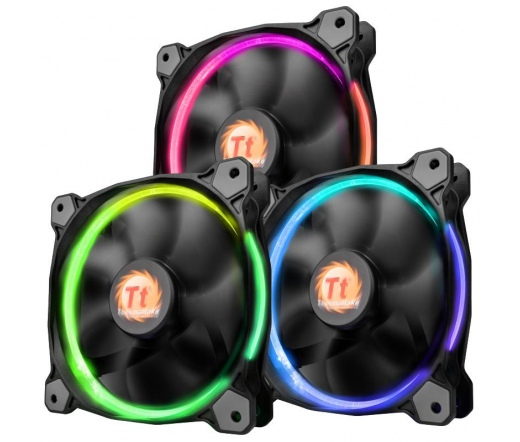 Thermaltake Riing 12, 120mm LED RGB LNC 3db