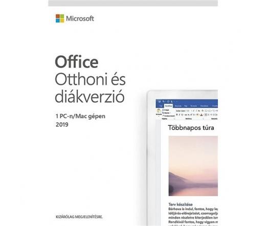 MS Office 2019 Home & Student Magyar 1 felhasználó