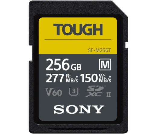 Sony SF-M Tough SDXC 256GB UHS-II Memóriakártya