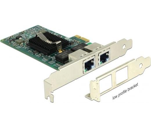 Delock PCI Express 2x Gigabit LAN