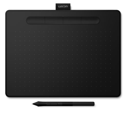 Wacom Intuos M Bluetooth fekete North