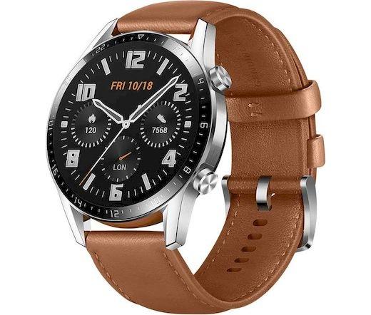 Huawei Watch GT 2 46mm ezüst-barna