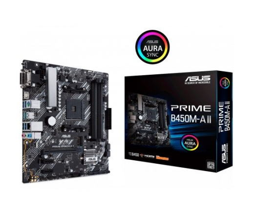 Asus Prime B450M-A II Alaplap