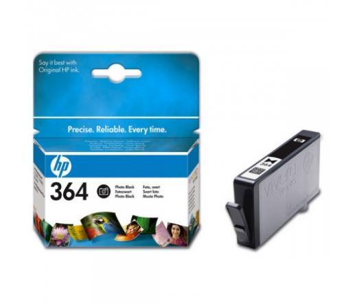 HP CB317EE (364) tintapatron Fotó Fekete
