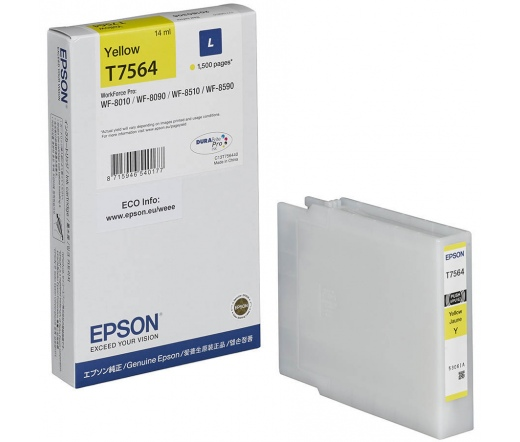 Epson patron T7564 Yellow