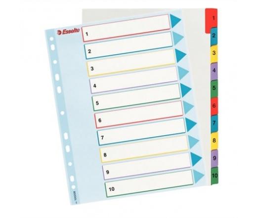 Esselte Regiszter, A4 Maxi, 1-10, újraírható