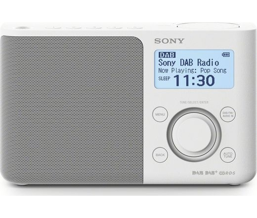 Sony XDR-S61D DAB/DAB+ fehér