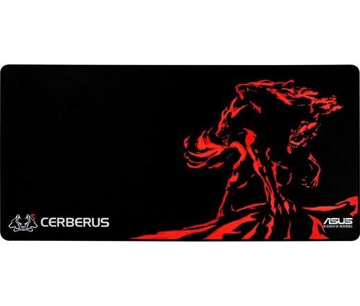Asus Cerberus Mat XXL fekete-piros
