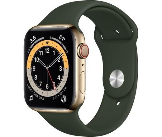 Apple Watch Series 6 LTE 40mm rm. acél arany