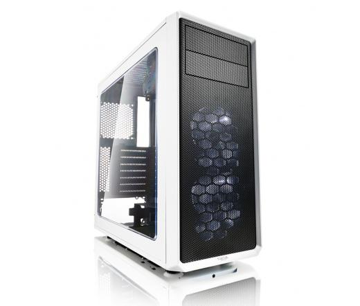 Fractal Design Focus G Fehér Ablakos