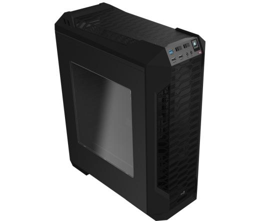 Aerocool PGS-SI-5200 ATX ablakos fekete