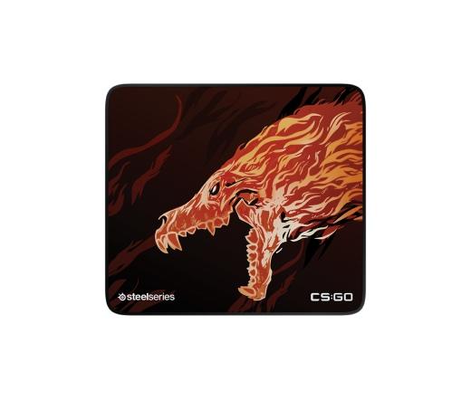 SteelSeries QcK+ Egérpad - CS:GO Howl Edition