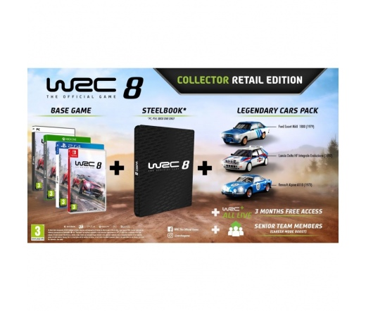 WRC 8 Collector's Edition  Nintendo Switch