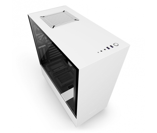 NZXT H500I ablakos fekete-fehér