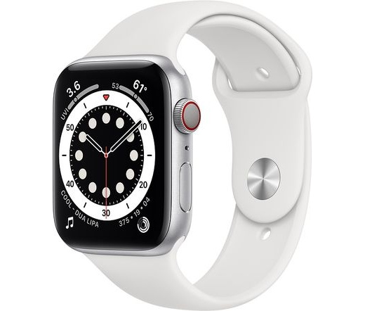 Apple Watch Series 6 LTE 44mm alumínium ezüst