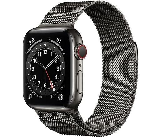 Apple Watch Series 6 LTE 40mm rm. acél grafit
