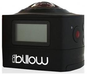 Billow 360°-os akciókamera fekete