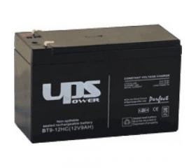 Zselés akkumulátor 12V 9Ah