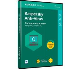Kaspersky Anti-Virus 2018 HUN 1 eszköz 1 év