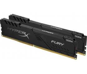 DDR4 16GB 2400MHz Kingston HyperX Fury Fekete kit2