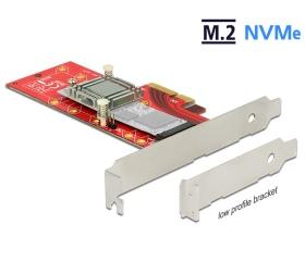 Delock Vezérlőkártya PCI Express x4 -> 1x M.2 NVMe