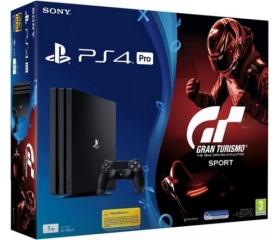 Sony PlayStation 4 Pro 1TB + Gran Turismo Sport St