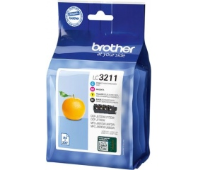 Brother LC-3211 Value Pack
