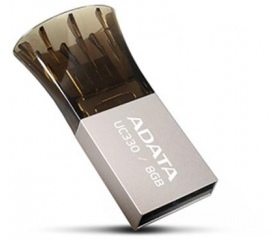 Adata UC330 8GB Ezüst cink test