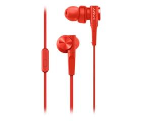 Sony MDR-XB55AP piros