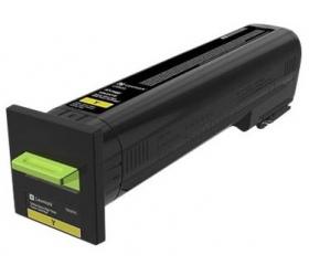 Lexmark CS820 kül. nagy kapacitású sárga 22k