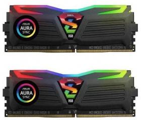 GeIL Super Luce 32GB 2666MH DDR4 Fekete RGB