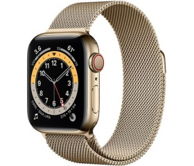 Apple Watch Series 6 LTE 40mm rm. acél arany