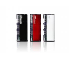 ATEN Mini Hub 4-port USB2.0 Fekete