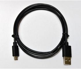 Hama USB 2.0 A / micro-B 1m szövet