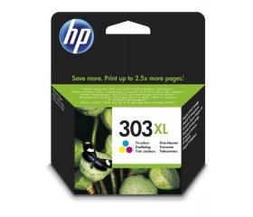 HP No303 XL Tri-Color (T6N03AE) színes tintapatron