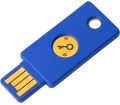 Yubico YubiKey FIDO2 U2F NFC biztonsági kulcs